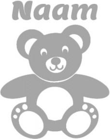 Geboortesticker met Teddy beertje